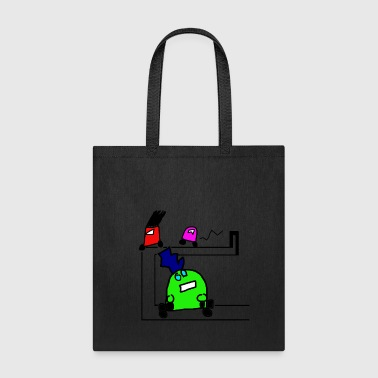 Robot Cartoon - Tote Bag