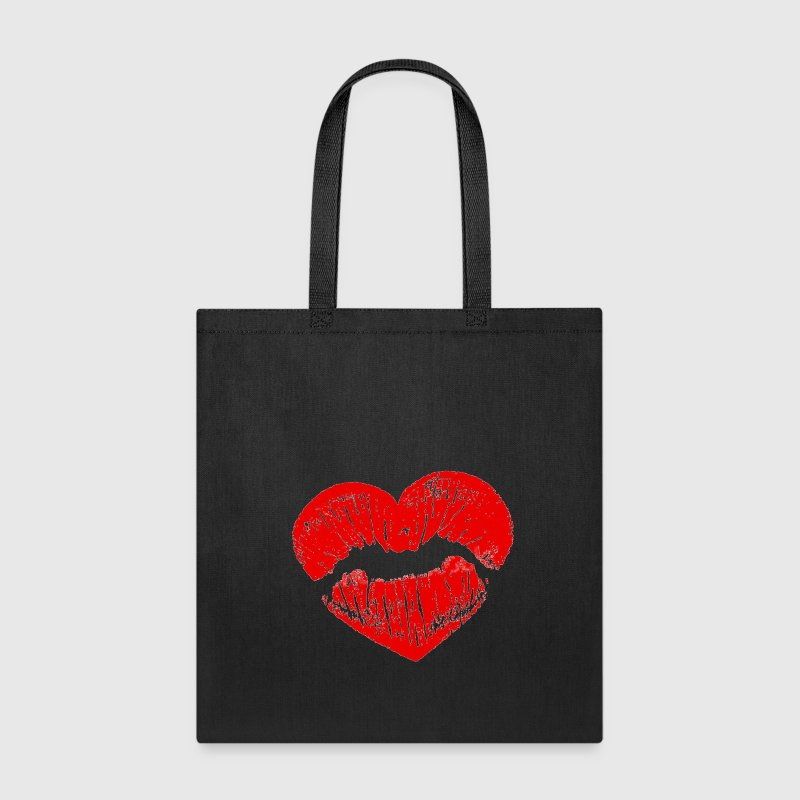 heart kiss - Tote Bag