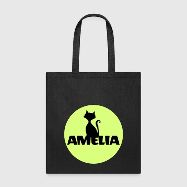 Amelia First name Name Name Motif Christening - Tote Bag