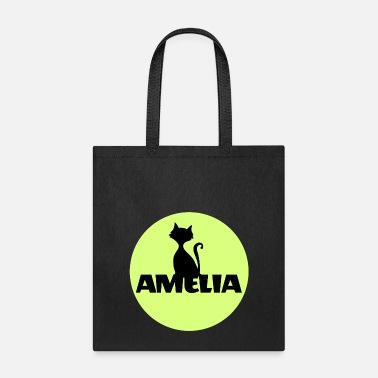 First Name Amelia First name Name Name Motif Christening - Tote Bag