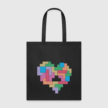 Tetris love - Tote Bag