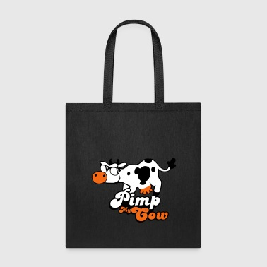 Pimp My Cow animal sunglasses - Tote Bag