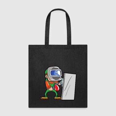 Iron Metal Welder Craftsman - Tote Bag