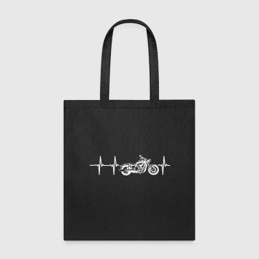 MY HEART BEATS FOR MY MOTORCYCLE - Tote Bag