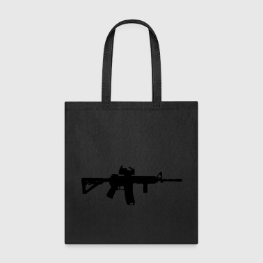 M4 - Assault Rifle - Tote Bag