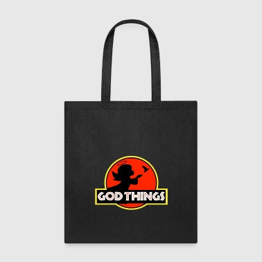 Cool I Believe In God Things - Little Angel Christian T - Tote Bag