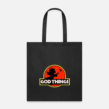 Christian I Believe In God Things - Little Angel Christian T - Tote Bag