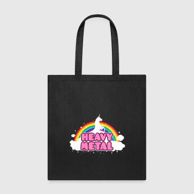 HEAVY METAL! (Funny Unicorn / Rainbow Mosh Parody  - Tote Bag