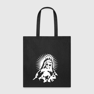 Virgin Mary with a pair of sunglasses - Tote Bag