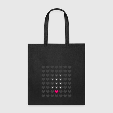 You are the one - love and romance - Tote Bag