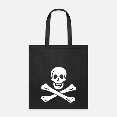 Jolly Roger Pirate flag - Tote Bag