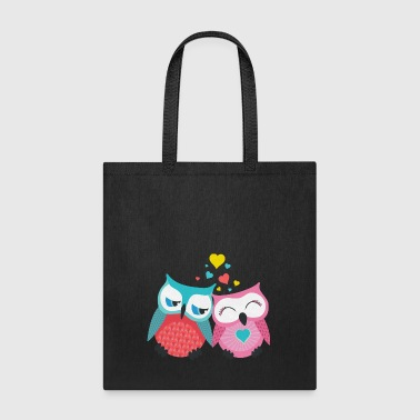owls in love  - Tote Bag