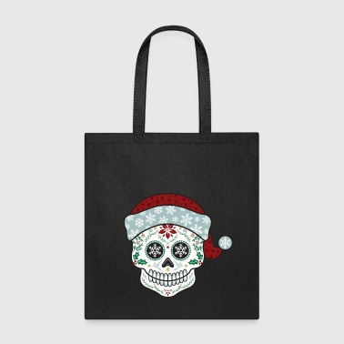 Sugar Skull Santa - Tote Bag
