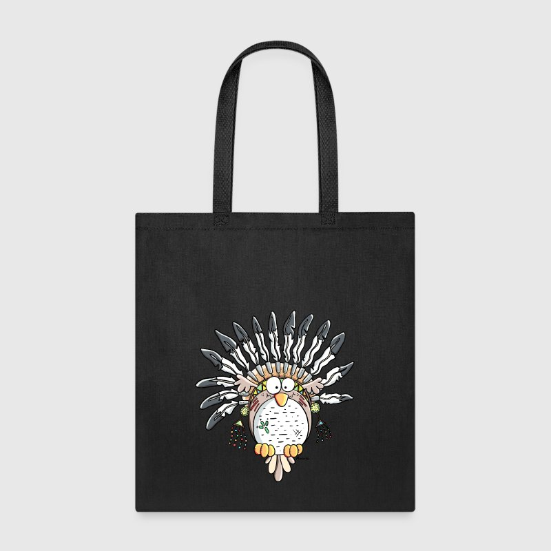 Indian Owl - Tote Bag