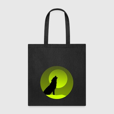 Wolf green - Tote Bag