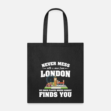 Know Cities London - Tote Bag