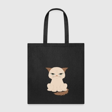 Bad-tempered cat - Tote Bag