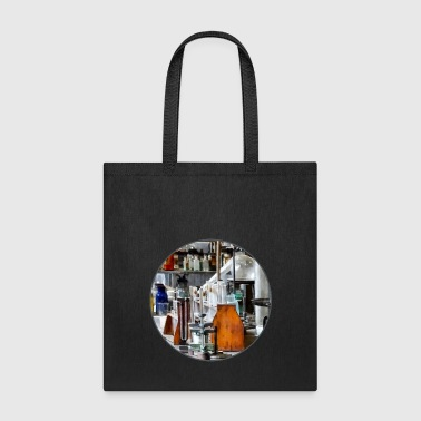 Chem Lab With Test Tubes - Tote Bag