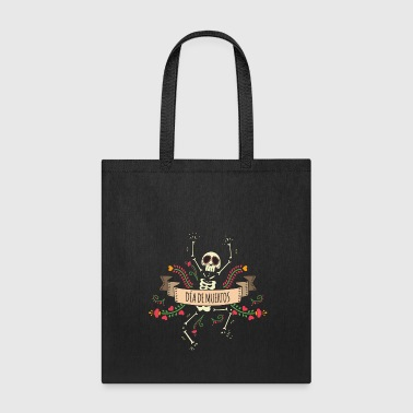 Sugar Skeleton - Day of the Dead - Tote Bag
