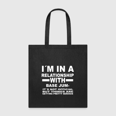 relationship with BASE JUMPING - Tote Bag