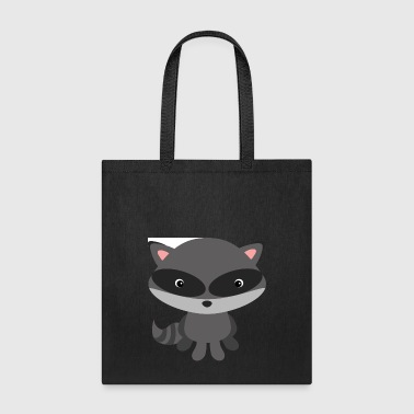 Raccoon raccoon - Tote Bag