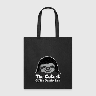 Sloth The Cutest Of The Deadly Sins - Tote Bag
