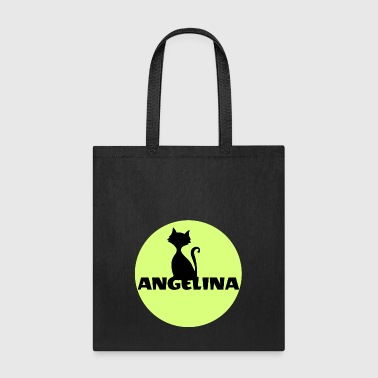 Firstname Angelina name firstname - Tote Bag