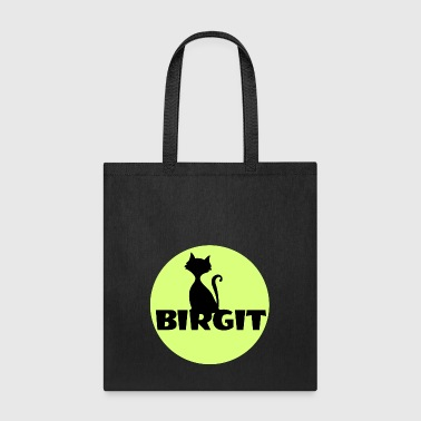 Name Day Birgit Name first name - Tote Bag