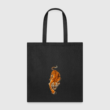 asian tiger - Tote Bag