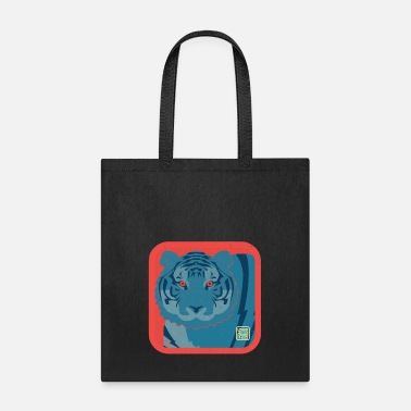 Liger Year of the Tiger Silkscreen - Tote Bag