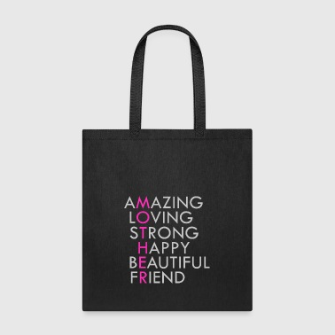 Mother Acronym Beautiful Inspirational - Tote Bag