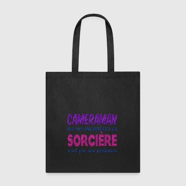 Witch Cameraman - Tote Bag