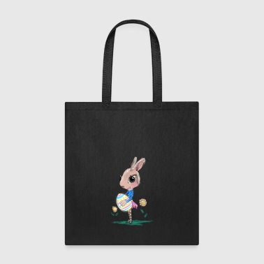 Sketched Easter Bunny, Cute Bunny Easter Bunny - Tote Bag