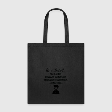 As a Student - Tote Bag