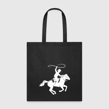 Horseman Horseman In The Fall - Tote Bag