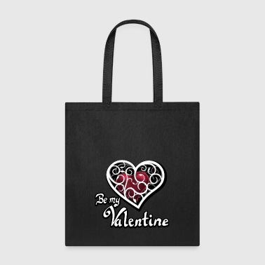 Valentine's Day, Be my Valentine - Tote Bag