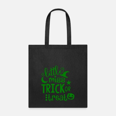 Little-green-men GIFT - LITTLE MISS GREEN - Tote Bag