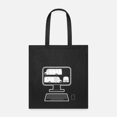 Pc pc truck - Tote Bag