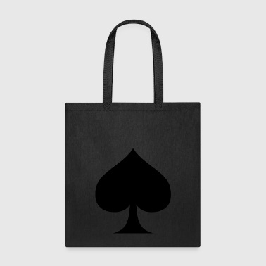 Suit of Spades Spade Pik Peak Mountaintop Cardgame - Tote Bag
