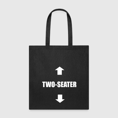 Penis Two-Seater Sex sexy dirty naughty saying gift - Tote Bag