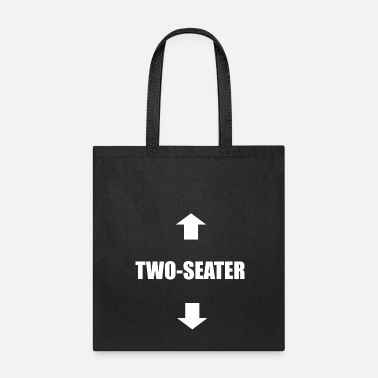Sex Sayings Two-Seater Sex sexy dirty naughty saying gift - Tote Bag