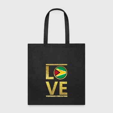 roots love home geschenk queen Guyana - Tote Bag
