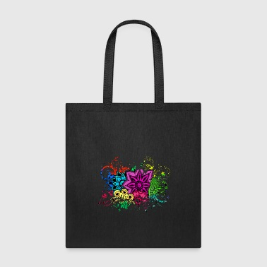Bed Flowers Rose - Tote Bag
