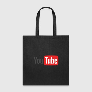 youtube logo - Tote Bag