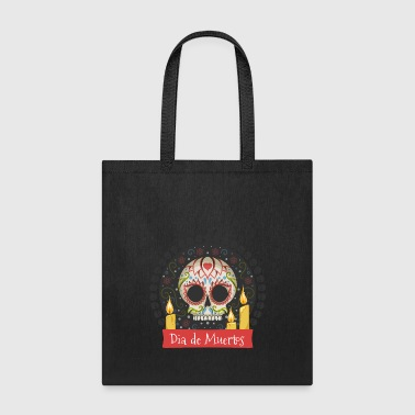 Sugar Skull - Day of the Dead #01 - Tote Bag