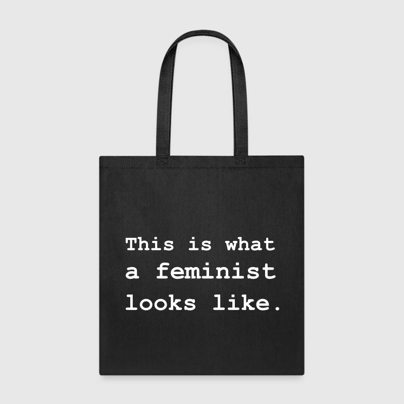 This is what a feminist looks like. - Tote Bag