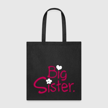 big sister tyo with heart - Tote Bag