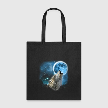Silver Wolfs Skylight 3px - Tote Bag