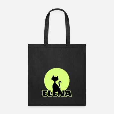 Elena Name day first name personal gift moonlight  - Tote Bag