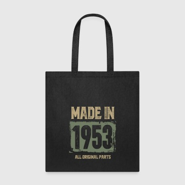 Original Made In 1953 All Original Parts - Tote Bag